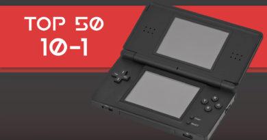 Top Starbit – Os melhores jogos Nintendo DS (10 ao 1)