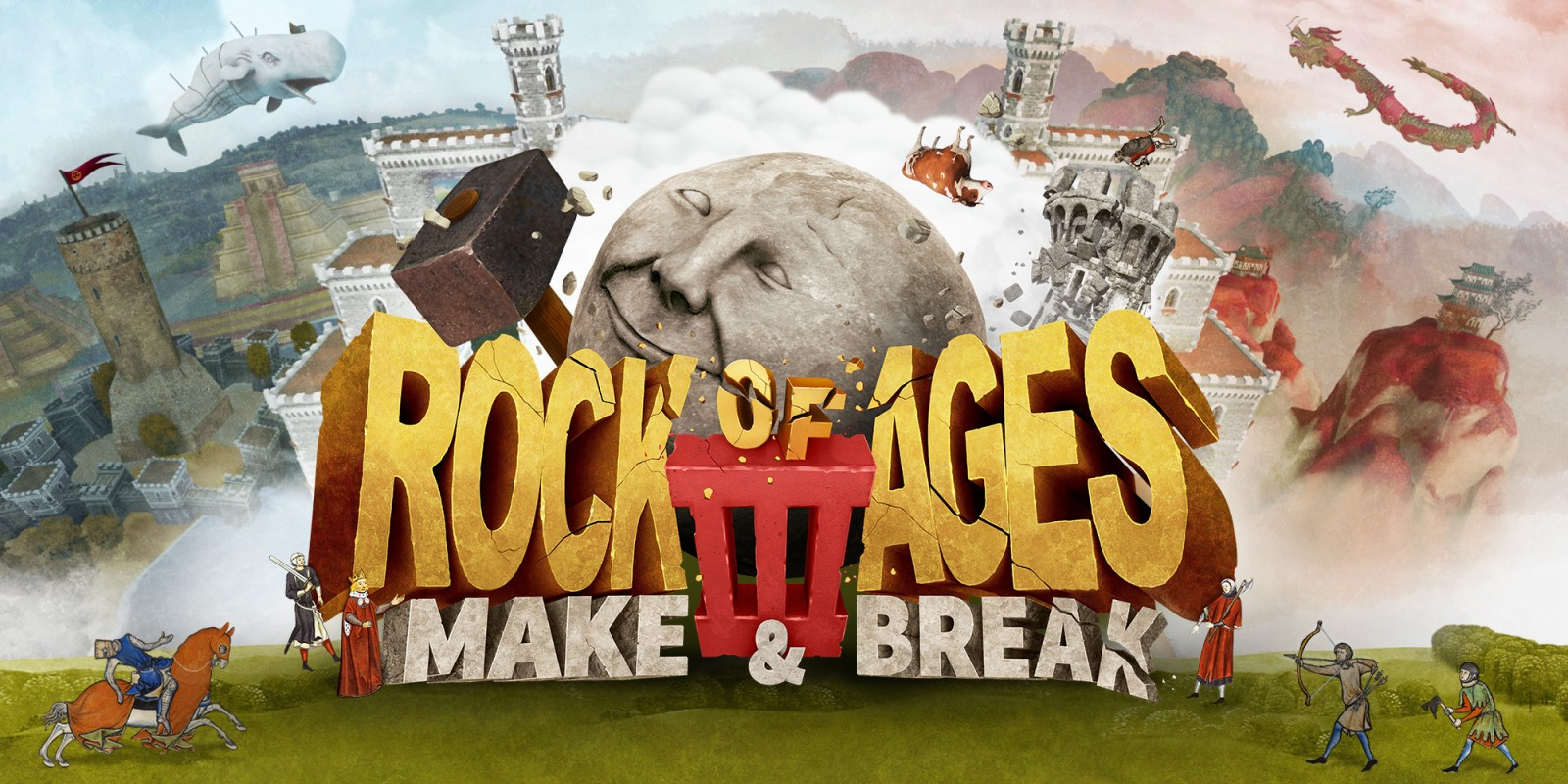 Rock of Ages 3: Make & Break - Análise | Starbit