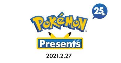 Pokémon Presents – Em direto a partir das 15h00