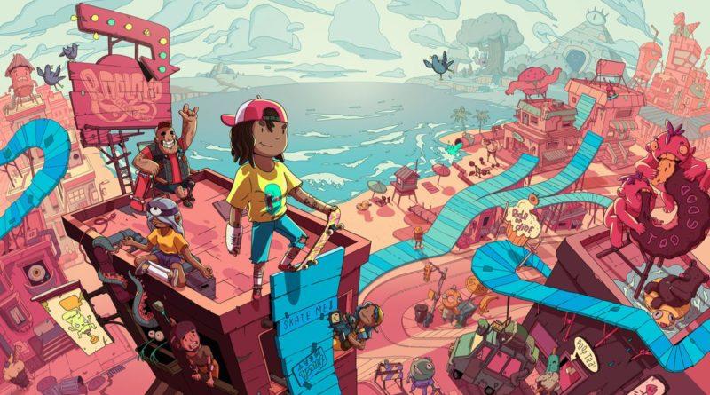 Roll7 revela novo jogo de ação e plataformas da série OlliOlli