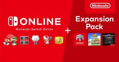 Nintendo Switch Online + Pack de expansão chega dia 25 de outubro